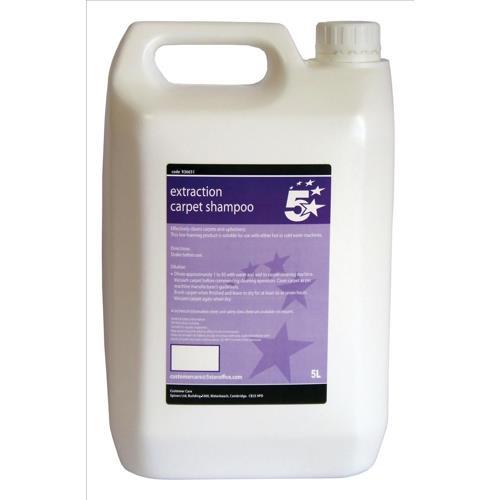 Buy 5 Star Facilities Extraction Carpet Shampoo 5 Litre