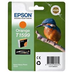 Epson T1599 Inkjet Cartridge Kingfisher 17ml Orange Ultra Chrome Ref C13T15994010