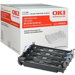 Originale OKI 44968301 Tamburo nero/colore