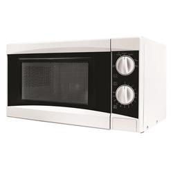 5 Star Facilities Manual Microwave Defrost and 5 Power Levels 800W 20 Litre White