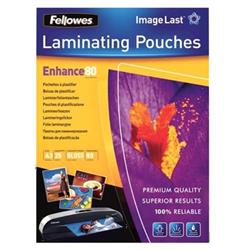 Fellowes Laminating Pouch 80 Micron A3 Ref 5396403 (Pack 25)