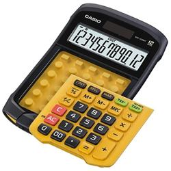 Casio Waterproof Calculator Battery/Solar-powered 12 Digit 3 Key Memory 109x169x33mm Ref WM-320MT
