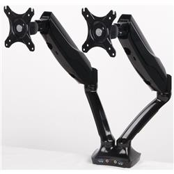 Easy Adjust Dual Monitor Arm In Black Ref AC000018