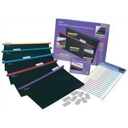 Snopake HangGlider Suspension Files Polypropylene A4 Assorted Ref 10296 - Pack 25