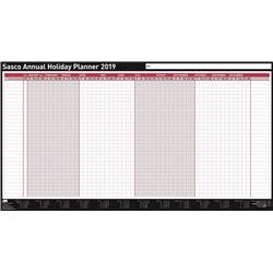 Sasco 2019 Annual Holiday Planner Unmounted Ref 2401945
