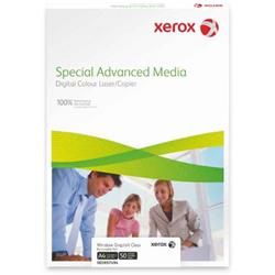 Xerox Premium Never Tear Matt Clear Self Adh Film A4 210x297mm 50sh Pack 5 Ref 007R92045 [Pack 250]