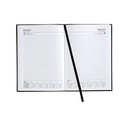 5 Star Office 2018/19 Academic Day To Page Diary A5 Black