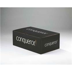 Conqueror Laid Cream DL Envelope Fsc4 110x220mm 120gm2 Sup/seal Bnd 50 Ref 01003 [Pack 500]
