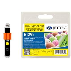 Jet Tec Epson Compatible T1294 (7ml) Remanufactured Inkjet Cartridge
