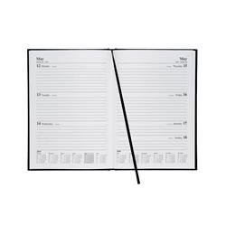5 Star Office 2019 Diary Week to View A5 Black Ref 941165