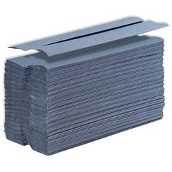 5 Star Facilities Hand Towel C-Fold One-ply Recycled 220x305mm 192 Towels Per Sleeve Blue Pack 15