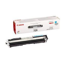 Canon Laser Toner Cartridge 729C Page Life 1000pp Cyan Ref 4369B002
