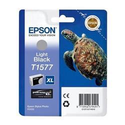 Epson T1577 Inkjet Cartridge Turtle 25.9ml Light Black Ref C13T15774010