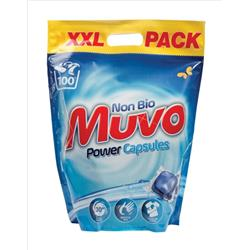 Muvo Non Biological Power Capsules  Ref MPCB100 [Pack 100]