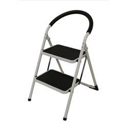 Image of Step Ladder 2 Tread White Frame - SLI359293