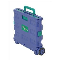 Shopping Cart Lid Folding Blue/Green