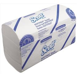 Scott Scottfold Hand Towels 175 Towels per Sleeve Ref 6633 [Pack 25 Sleeves]