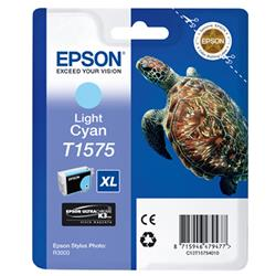 Epson T1575 Inkjet Cartridge Turtle 25.9ml Light Cyan Ref C13T15754010