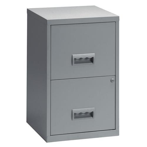 cff32526dde Pierre Henry 2 Drawer A4 Lockable Steel Filing Cabinet Grey Ref 095000. SKU    AAK989. AAK989. Previous Image Next Image