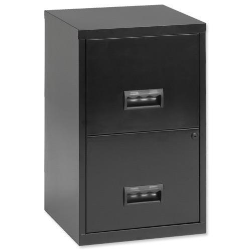 Pierre Henry 2 Drawer A4 Lockable Steel Filing Cabinet