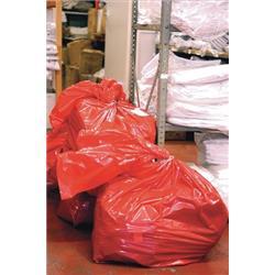 Laundry Bags Medium Duty Dissolving Strips 965 Gauge 50 litres 457 x 711 mm (Pack 200)