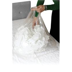 Laundry Bags Medium Duty Dissolving Strips 50 Litre Clear [Pack 200]