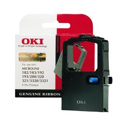 Originale OKI 09002303 - stampanti ad aghi - Nastro - nero