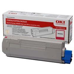 Originale OKI 43865722 - laser - Toner - magenta