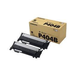 Samsung Laser Toner Cartridge Page Life 1500pp Black Ref CLT-P404B/ELS [Pack 2]