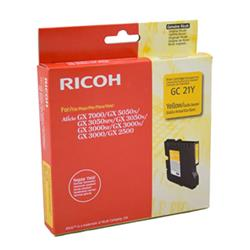 Originale Ricoh stampanti, fax e copiatrici - Gel Type GC21Y - 405535 - giallo - K202/G
