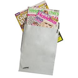 Keepsafe DX LightWeight Envelope Polythene Opaque DX W440xH320mm Peel & Seal Ref KSV-L4 - Pack 100