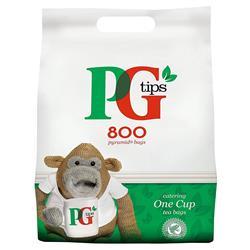 PG Tips 1 Cup Tea Bags Ref 67422456 [Pack 800]