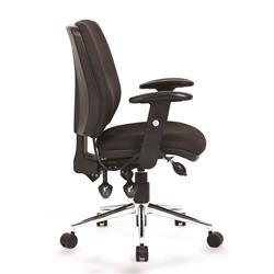 Sonix Support Chiro Chair Adjustable Black Ref OP000010