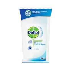 Dettol Antibacterial Surface Cleaning Wipes Ref 3007228 [Pack 84] - 2 for 1