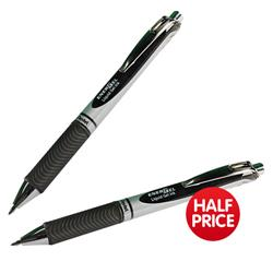 Pentel EnerGel XM Retractable 0.7mm Tip 0.35mm Line Black Ref BL77-A [Pack 12] - Buy One Get One Half Price