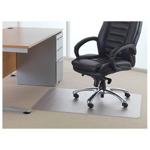 Floortex Polycarbonate Rectangle Carpet Chair Mat