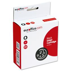 Euroffice Compatible Inkjet Cartridge Page Life 2200pp Black [HP No. 940XL C4906AE Equivalent]