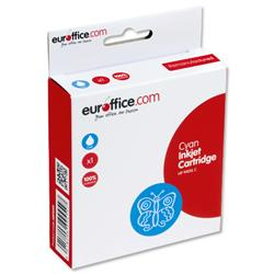 Euroffice Compatible Inkjet Cartridge Page Life 1400pp Cyan [HP No. 940XL C4907AE Equivalent]