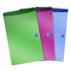 Oxford Office Reporters Notebook Polypropylene 140pp Random Metallic Colour Ref 100080519 [Pack 10]