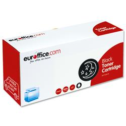 Euroffice Compatible Laser Toner Cartridge Page Life 2500pp Black [HP No. 124A Q6000A Equivalent]