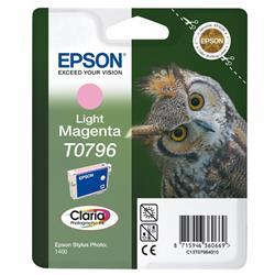 Cartuccia originale Epson T0796 - magenta chiaro - C13T07964010
