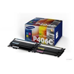 Originale Samsung CLT-P406C/ELS Conf. 4 Toner P406C nero+ciano+magenta+giallo