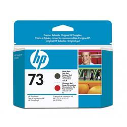 Originale HP CD949A Testina di stampa 73 nero opaco rosso cromatico