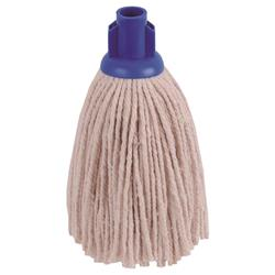 Robert Scott & Sons Socket Mop for Smooth Surfaces PY 12oz Blue Ref 101870BLUE [Pack 10]