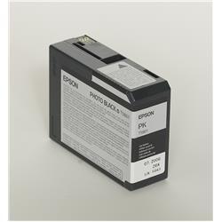Originale Epson C13T580100 Cartuccia inkjet ink pigmentato ULTRACHROME K3 T5801 nero fotografico