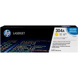 Toner HP ColorSphere - CC532A - originale HP - giallo