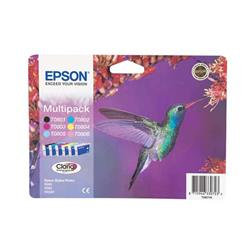 Cartuccia originale Epson T0807 - 6 colori - C13T08074010