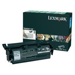 Originale Lexmark Toner alta resa return program nero - T650H11E