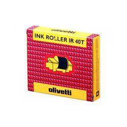 Originale Olivetti - stampante ad aghi - Ink roll IR40T - nero/rosso - conf. 2