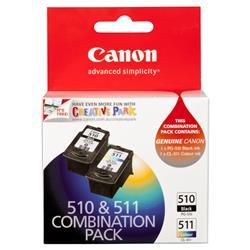 Originale Canon 2970B010 - Conf. 2 serbatoi inchiostro PG-510/CL-511